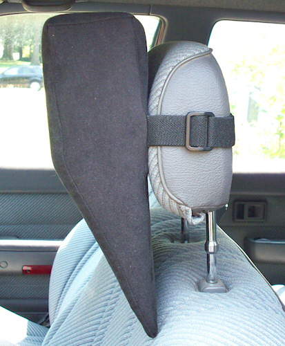 Black Cloth HeadRest