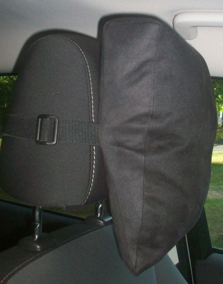 Black Comfort HeadRest