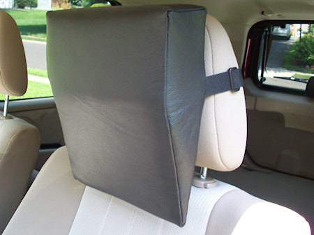 Auto Accessory Add On Headrest Car Neck Support