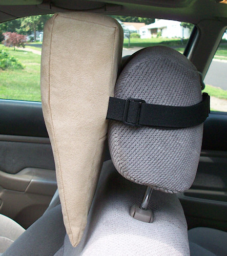 Tan Cloth HeadRest