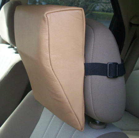 Tan Leather HeadRest